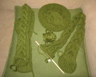 Bella mitten set